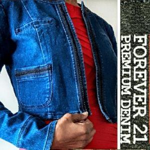 NWT - Forever 21 Denim Jacket